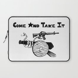 Come and Take It Laptop Sleeve