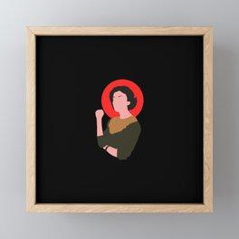 audrey horne Framed Mini Art Print