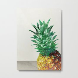 Pineapple II Metal Print