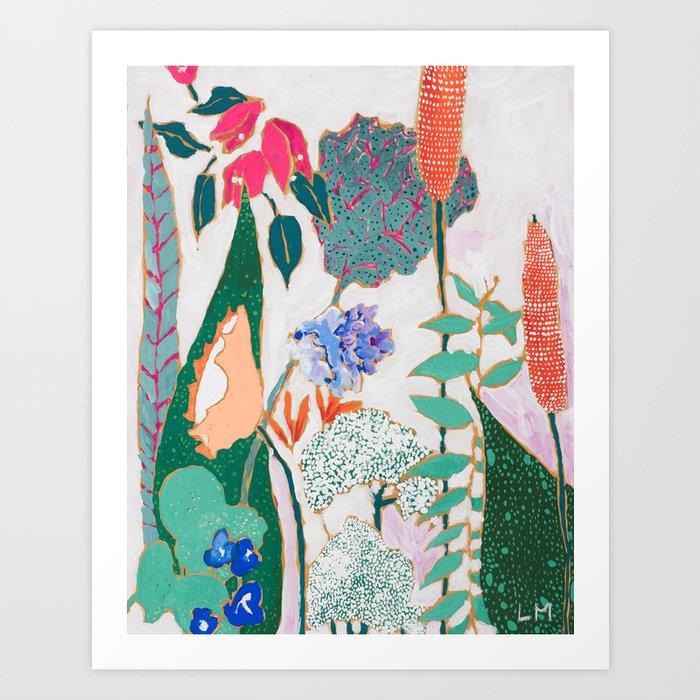 Speckled Garden Kunstdrucke