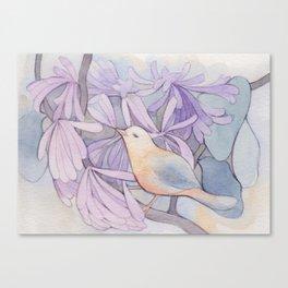 Affable Bird Canvas Print