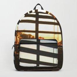 Sunrise through the Blinds Backpack