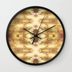 Warm City Lights Wall Clock