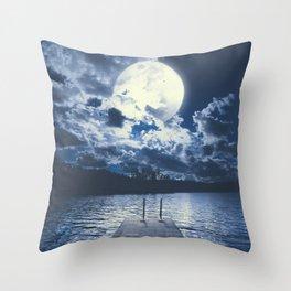 Bottomless dreams Throw Pillow