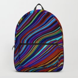 Wild Wavy Lines 19 Backpack