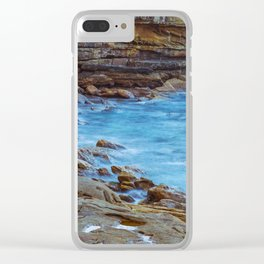 Northern Beaches Clear iPhone Case