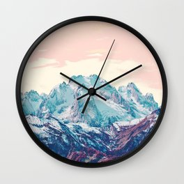 Memories of a sky palette Wall Clock