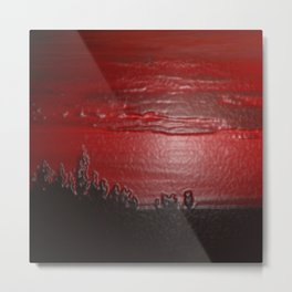 Lacquer Sunset Metal Print