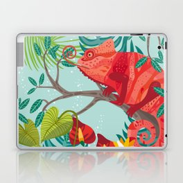 The Red Chameleon  Laptop & iPad Skin