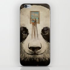 Panda window cleaner iPhone & iPod Skin