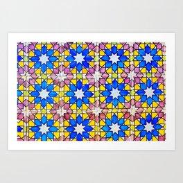 Azulejos - Portuguese tiles Art Print