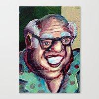 jack daniels Canvas Prints featuring Devvy Daniels by Matt Tanzi