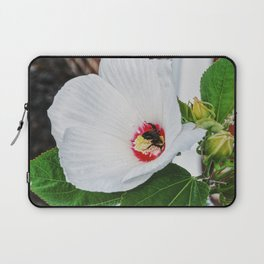 The Flower and the Bee Laptop Sleeve