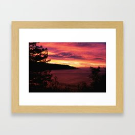 Sunset * Big Sur, California Framed Art Print
