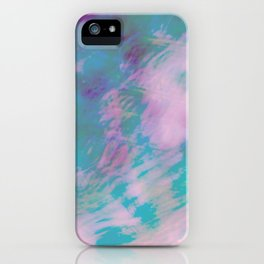 Abstract Motion iPhone Case