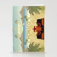 formula 1 Stationery Cards featuring Formula 1 in Monaco by Daniella Gallistl