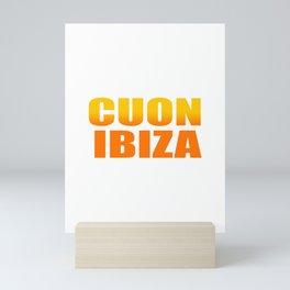 CUON IBIZA Mini Art Print