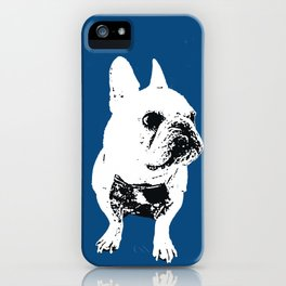 George the cutest French Bulldog iPhone Case