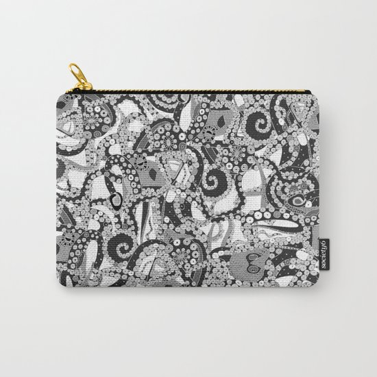 tentacles mono Carry-All Pouch