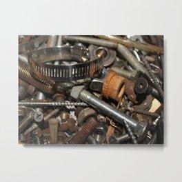 Hardware Metal Print