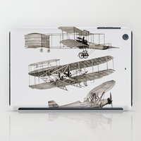 airplanes iPad Cases featuring airplanes 3 by Кaterina Кalinich