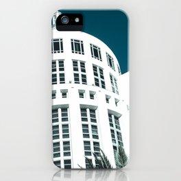 Art Deco Miami Beach #27 iPhone Case