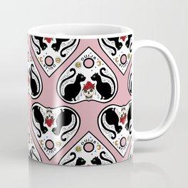 Cat Ouija (pink) Coffee Mug