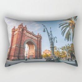 Arc de riomf Barcelona Rectangular Pillow