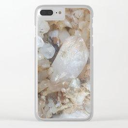 Quartz wall Clear iPhone Case