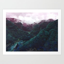 Hometown Valley ~Keikoku~ Art Print