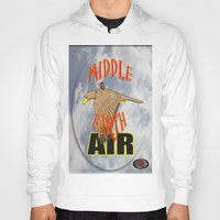 middle earth Hoodies featuring darrell merrill nerd artist: middle earth air by Nerd Artist DM