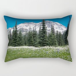 Mt. Rainier Wildflowers 2017 Rectangular Pillow