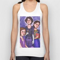 sisters Tank Tops featuring Sisters by Anna Gogoleva