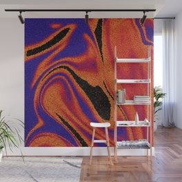 Abstract Sand painting Wall Mural