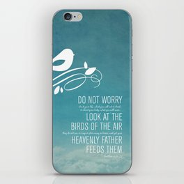 Do Not Worry iPhone Skin