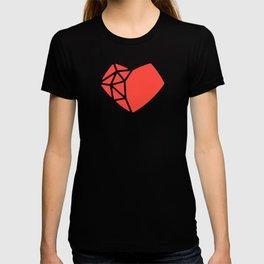 Heart Shaped Games Logo T-shirt