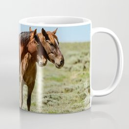 Wyoming Wild_Horses - II Coffee Mug