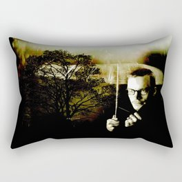 Mystery Of The Mind By Annie Zeno Rectangular Pillow