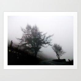 Ghost lands Art Print
