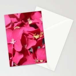 Pink Hydrangea Close Up Stationery Cards