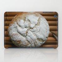 bread iPad Cases featuring Bread Winner by KunstFabrik_StaticMovement Manu Jobst
