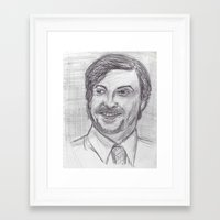 murray Framed Art Prints featuring Murray by jamestomgray
