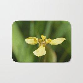 Yellow Walking Iris Bath Mat