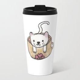 The Coffee Cat: Coffee Cat Kawaii Travel Mug