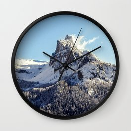 Magestic Mountain Wall Clock