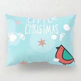 Merry little Christmas Pillow Sham
