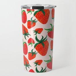 Strawberry Harvest Travel Mug