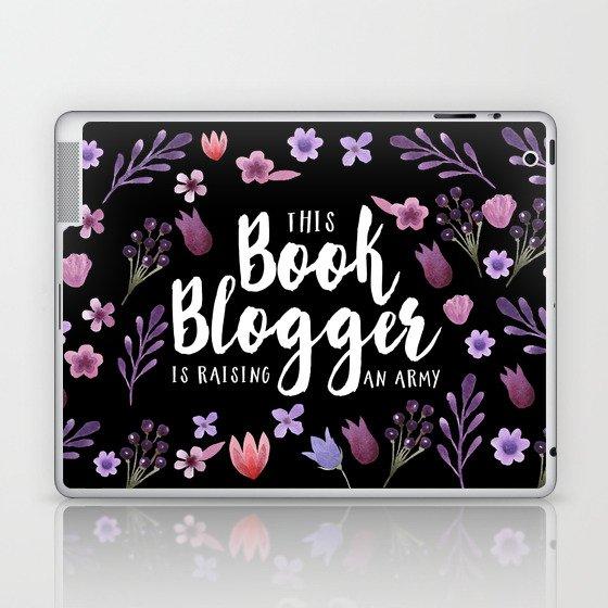Book Blogger Army Laptop & iPad Skin