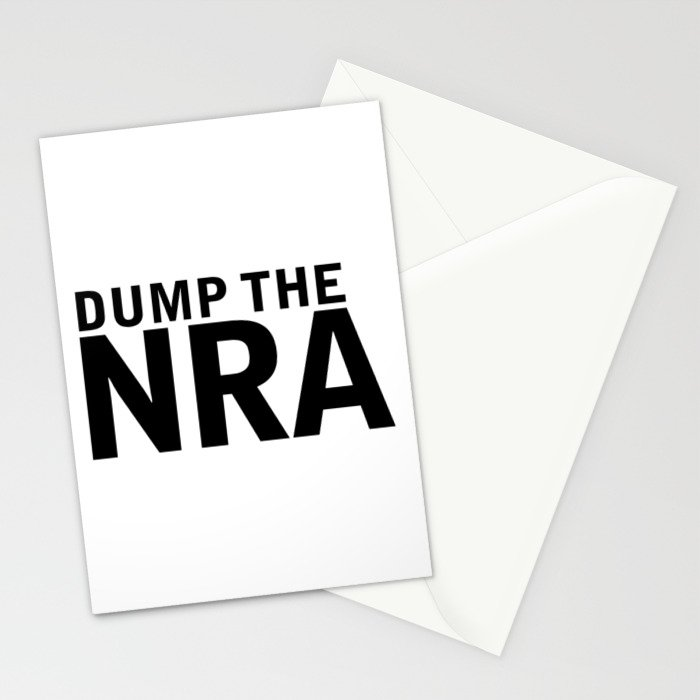 Dump the NRA Stationery Cards