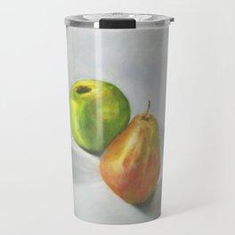 Still life, cool fruits Travel Mug